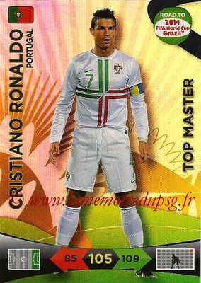 2014 - Panini Road to FIFA World Cup Brazil Adrenalyn XL - N° 234 - Cristiano RONALDO (Portugal) (Top Master)