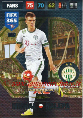 2016-17 - Panini Adrenalyn XL FIFA 365 - N° 411 - Michal NALEPA (CA Boca Juniors) (Debut)