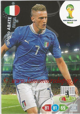 2014 - Panini FIFA World Cup Brazil Adrenalyn XL - N° 210 - Ignazio ABATE (Italie)