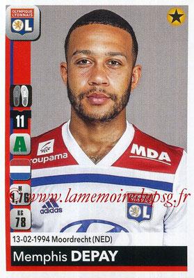 2018-19 - Panini Ligue 1 Stickers - N° 193 - Memphis DEPAY (Lyon)