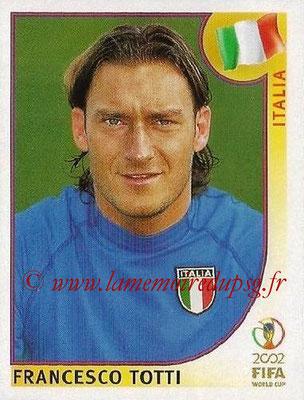2002 - Panini FIFA World Cup Stickers - N° 470 - Franceso TOTTI (Italie)