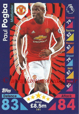 2016-17 - Topps Match Attax Premier League - N° 191