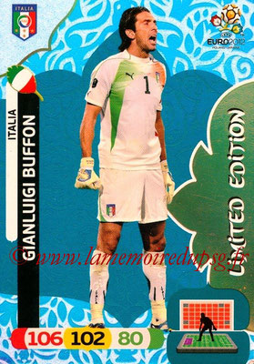 Panini Euro 2012 Cards Adrenalyn XL - N° LE29 - Gianluigi BUFFON (Italie) (Limited Edition)