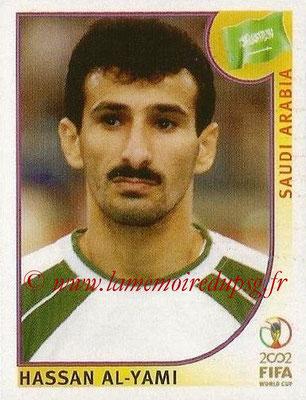2002 - Panini FIFA World Cup Stickers - N° 346 - Hassan AL-YAMI (Arabie Saoudite)