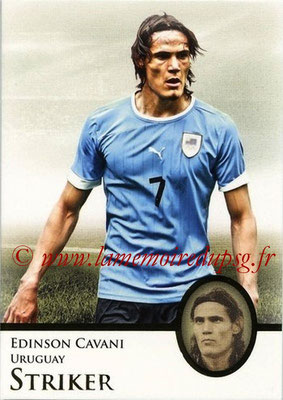 2013 - Futera World Football Unique - N° 069 - Edinson CAVANI (Uruguay) (Striker)