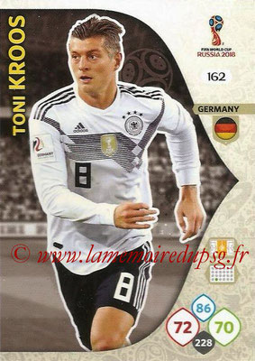 2018 - Panini FIFA World Cup Russia Adrenalyn XL - N° 162 - Toni KROOS (Allemagne)
