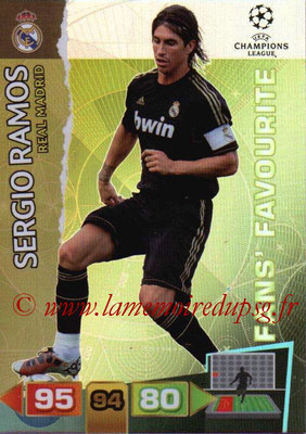 2011-12 - Panini Champions League Cards - N° 320 - Sergio RAMOS (Real Madrid CF) (Fans' Favourite)