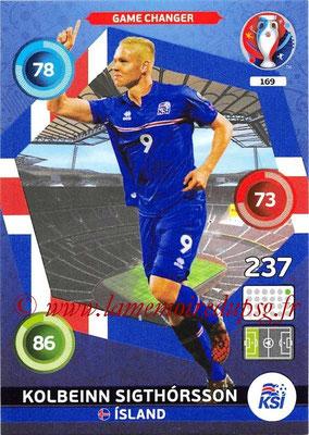 Panini Euro 2016 Cards - N° 169 - Kolbeinn SIGTHORSSON (Islande) (Game Changer)