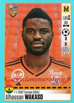 2016-17 - Panini Ligue 1 Stickers - N° T20 - Alhassan WAKASO (Lorient) (Set Transfert)