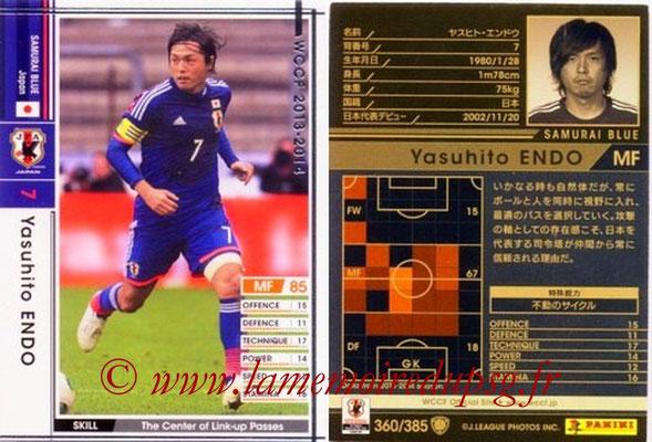 2013-14 - WCCF - N° 360 - Yasuhito ENDO (Japon)