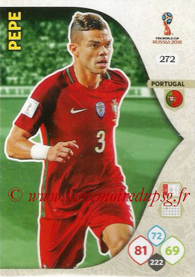 2018 - Panini FIFA World Cup Russia Adrenalyn XL - N° 272 - PEPE (Portugal)