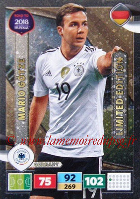 2018 - Panini Road to FIFA World Cup Russia Adrenalyn XL - N° LE-MG - Mario GÖTZE (Allemagne) (Limited Edition)