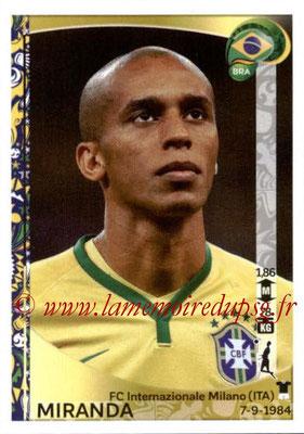 Panini Copa America Centenario USA 2016 Stickers - N° 115 - MIRANDA (Brésil)