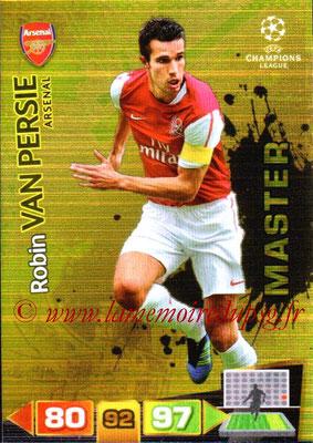 2011-12 - Panini Champions League Cards - N° 326 - Robin VAN PERSIE (Arsenal FC) (Master)