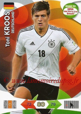 2014 - Panini Road to FIFA World Cup Brazil Adrenalyn XL - N° 053 - Toni KROOS (Allemagne)