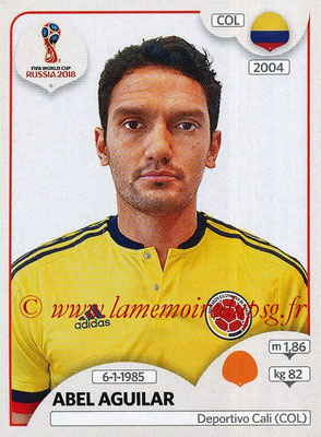 2018 - Panini FIFA World Cup Russia Stickers - N° 642 - Abel AGUILAR (Colombie)