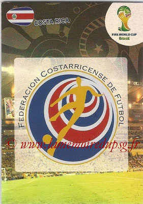 2014 - Panini FIFA World Cup Brazil Adrenalyn XL - N° 088 - Logo Costa Rica