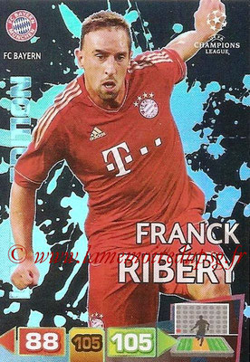 2011-12 - Panini Champions League Cards - N° LE12 - Franck RIBERY (FC Bayern Munich) (Limited Edition)