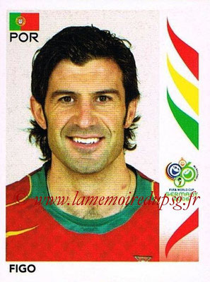 2006 - Panini FIFA World Cup Germany Stickers - N° 293 - FIGO (Portugal)