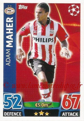 2015-16 - Topps UEFA Champions League Match Attax - N° 155 - Adam MAHER (PSV Eindhoven)