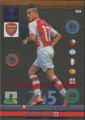 2014-15 - Adrenalyn XL champions League N° 343 - Alexis SANCHEZ (Arsenal FC) (International Star)
