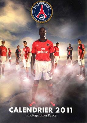 Calendrier  PSG  2011