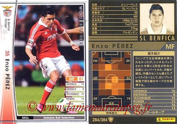 2012-13 - WCCF - N° 284 - Enzo PEREZ (SL Benfica)