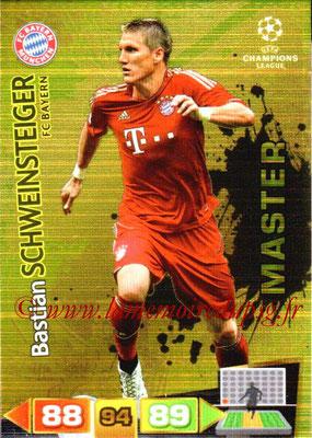2011-12 - Panini Champions League Cards - N° 330 - Bastian SCHWEINSTEIGER (FC Bayern Munich) (Master)
