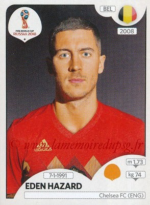 2018 - Panini FIFA World Cup Russia Stickers - N° 527 - Eden HAZARD (Belgique)