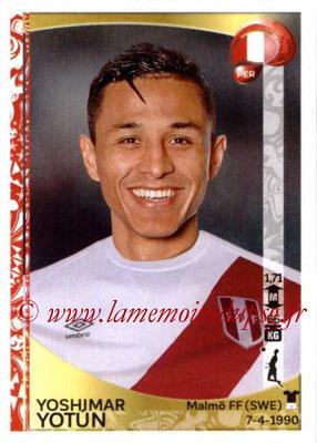 Panini Copa America Centenario USA 2016 Stickers - N° 193 - Yoshimar YOTUN (Perou)