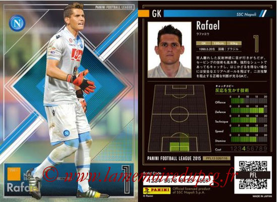 Panini Football League 2015 - PFL13 - N° 026 - RAFAEL (SSC Napoli) (Star +)