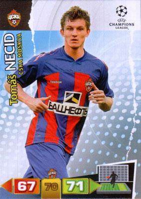 2011-12 - Panini Champions League Cards - N° 103 - Tomas NECID (CSKA Moscou)