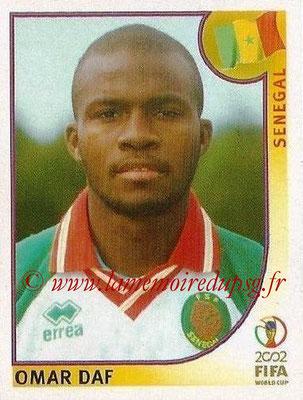 2002 - Panini FIFA World Cup Stickers - N° 046 - Omar DAF (Sénégal)