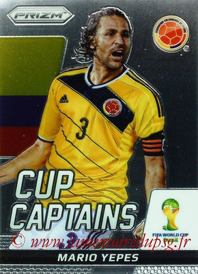 N° CC22 - Mario YEPES (2004-08, PSG > 2014, Colombie) (Cup Captain)