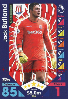 2016-17 - Topps Match Attax Premier League - N° 236
