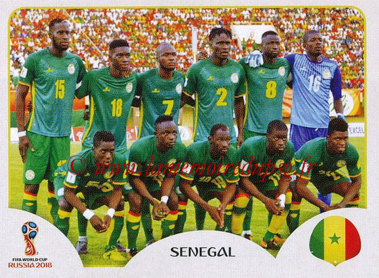 2018 - Panini FIFA World Cup Russia Stickers - N° 613 - Equipe (Senegal)