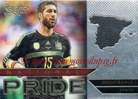2015 - Panini Select Soccer - N° NP38 - Sergio RAMOS (Espagne) (National Pride)