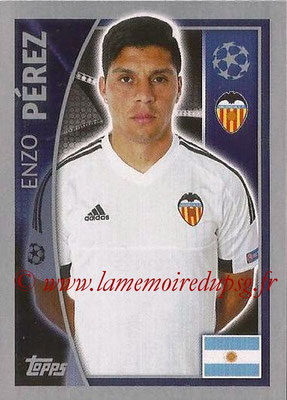 2015-16 - Topps UEFA Champions League Stickers - N° 557 - Enzo PEREZ (FC Valence)