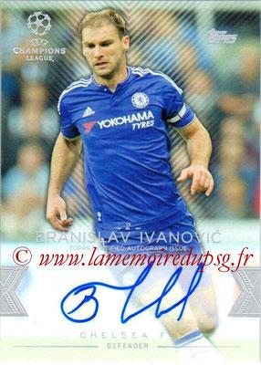 2015-16 - Topps UEFA Champions League Showcase Soccer - N° CLA-BI - Branislav IVANOVIC (Chelsea FC) (Base Autographs Cards)