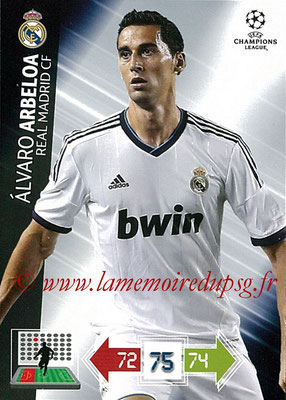 2012-13 - Adrenalyn XL champions League N° 223 - Alavaro ARBELOA (Real Madrid CF)