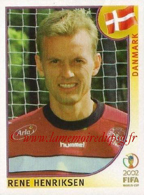 2002 - Panini FIFA World Cup Stickers - N° 082 - Rene HENRIKSEN (Danemark)
