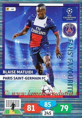 N° 312 - Blaise Matuidi (Fans' Favorite)