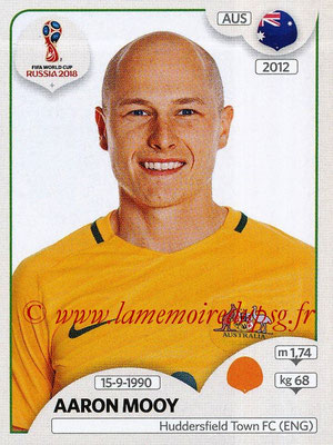 2018 - Panini FIFA World Cup Russia Stickers - N° 222 - Aaron MOOY (Australie)