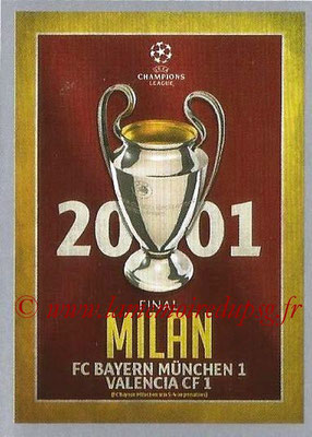 2015-16 - Topps UEFA Champions League Stickers - N° 593 - UEFA Champions League Final 2000-01