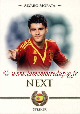 2014 - Futera World Football Unique - N° 098 - Alvaro MORATA (Goalkeeper) (Next)