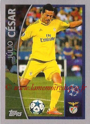 2015-16 - Topps UEFA Champions League Stickers - N° 573 - Julio CESAR (SL Benfica) (Player to Watch)