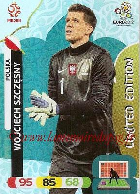 Panini Euro 2012 Cards Adrenalyn XL - N° LE33 - Wojciech SZCZESNY (Pologne) (Limited Edition)