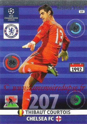 2014-15 - Adrenalyn XL champions League N° 125 - Thibaut COURTOIS (Chelsea FC) (Rising star)