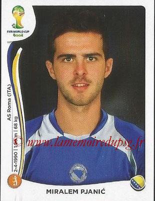 2014 - Panini FIFA World Cup Brazil Stickers - N° 444 - Miralem PJANIC (Bosnie Herzegovine)