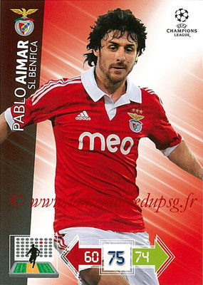 2012-13 - Adrenalyn XL champions League N° 063 - Pablo AIMAR (SL Benfica)s